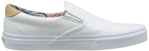 Vans Herren Ua Slip-On 59 Sneakers Weiß (C And L Dolphins/true White)