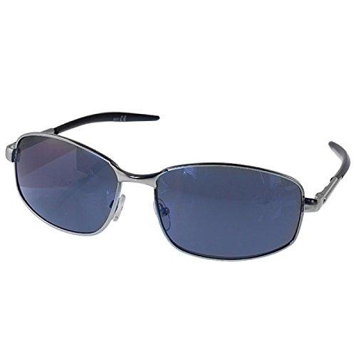 Verres Chic-Net concepteur lunettes de soleil de lunettes d'hommes 400UV teinté gris noir Nb8tNg