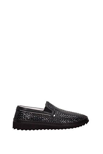 Dolce & Gabbana A50078AB593 Mocassini Uomo Nero