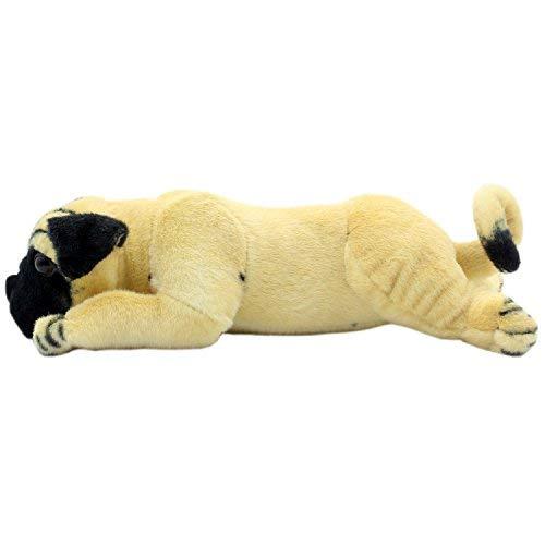 TAGLN Animali di Peluche Giocattoli Cane Pug Cuscini 35 CM