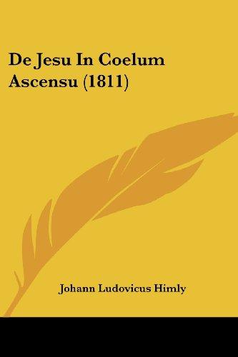 de Jesu in Coelum Ascensu (1811)