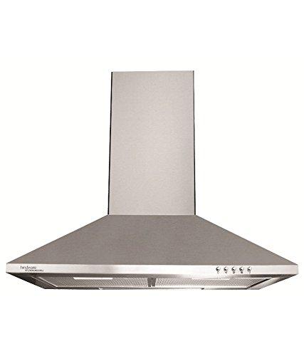 Hindware 60 cm 750 m3/h Chimney (C100072, Silver)