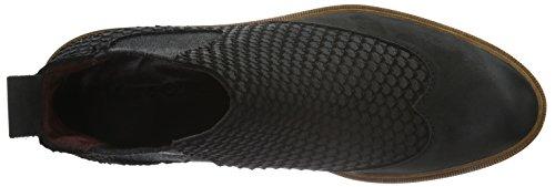 Marc O'Polo - Chelsea, Stivali bassi con imbottitura leggera Donna Nero (Nero (Black 990))