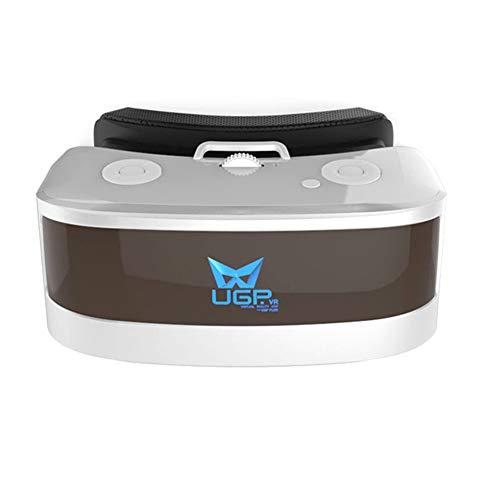 Occhiali 3d vr cuffie per realtà virtuale google cardboard con giochi di youtube sistema android 5.5 pollici 1080p con cinema panoramico a 360 gradi wifi bluetooth gamepad e tf card regalo perfetto
