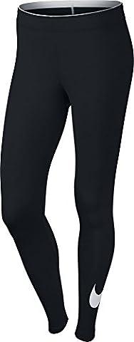 Nike Damen Oberbekleidung Club Logo Leggings, , schwarz ,S ,815997-010