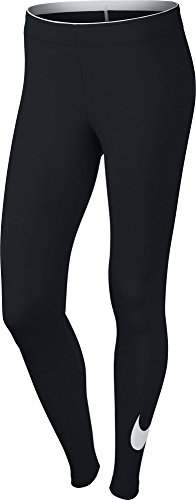 Nike Damen  Club Logo Leggings (Hose) , schwarz ,L ,815997-010