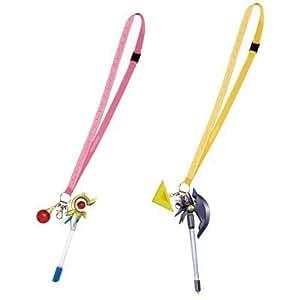 Neck strap device pen Raging Heart & Barudesshu [Magical Girl Lyrical Nanoha The MOVIE 1st] whole set of 2 E lottery prize most Banpresto (japan import)