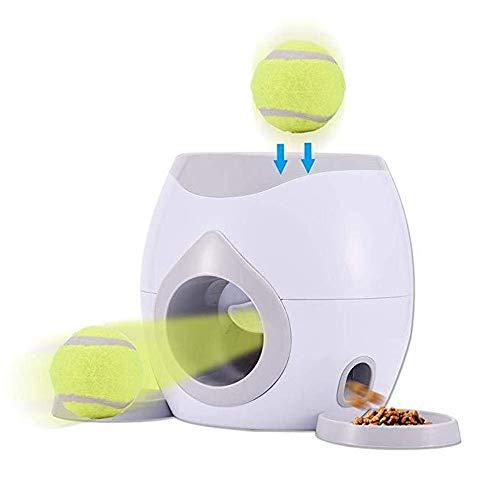 XinC Hund Intelligenz Spielzeug Hund Tennis Belohnung Maschine Fitness Spielzeug Entwicklung Intelligentes Training Tool Pet Feeder Fun Game Entwicklung Hund Intelligenz -