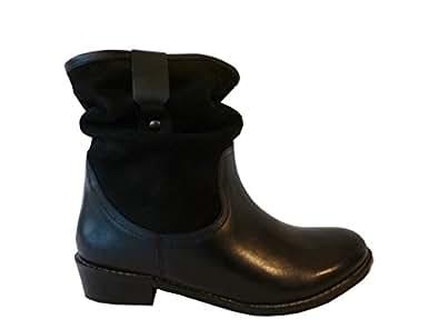 Redfoot Shoes Femmes Noir ample de coffre - Noir - noir,