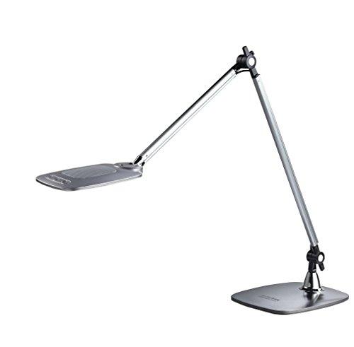 Aluminor DUKE LT G Lampe de Bureau LED Métal/ABS, Intégré, 6.6 W, Gris