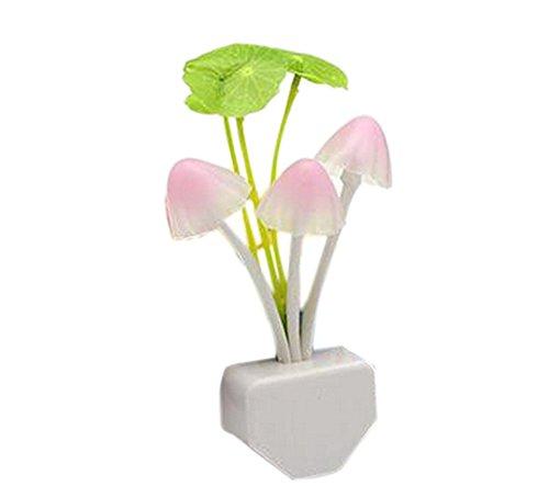 demarkt 1 pcs veilleuses mushroom lights nuit lampe champignon led silicone lampe de chevet pour. Black Bedroom Furniture Sets. Home Design Ideas