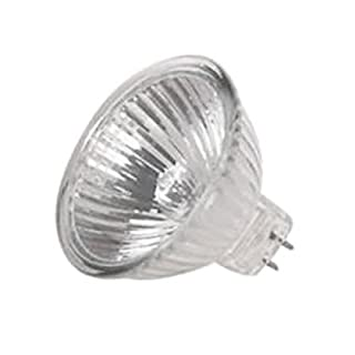 Anyray A1898Y (1)-Bulb G8 Base JCDR 35W 120V 35-Watts BI-PIN Clear 120Volts 35Watt GU8