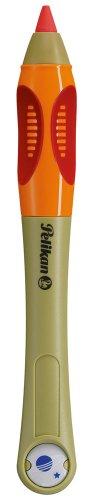 Pelikan Griffix Wachsschreiber für Links-/Rechtshänder mit 3 Ersatz-Wachsschreibminen grün -
