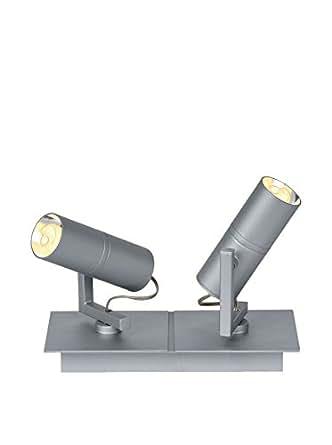 Lucide lampe de plafond–Argent/Gris Unique