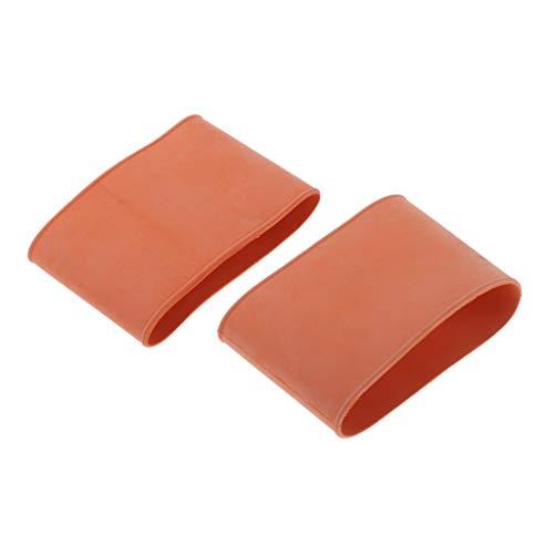 Toygogo 2pcs Gummi Tauchanzug Wrist Seal Nassanzug Neoprenanzug Ärmel Gummidichtung