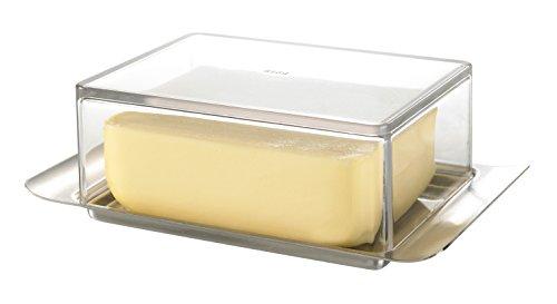 GEFU GE33620 Butelo Beurrier Acier Inoxydable Blanc 16,7 x 5,5 x 10,19 cm