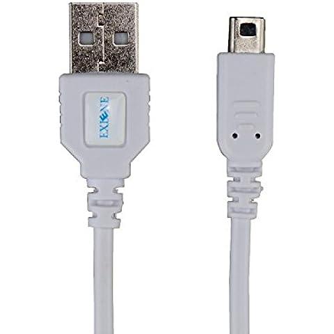 Exlene® Nintendo 3DS USB cable cargador de la energía Juega mientras se carga para Nintendo 3DS, 3DS XL, 2DS, DSi, DSi XL -4ft / 1.2m