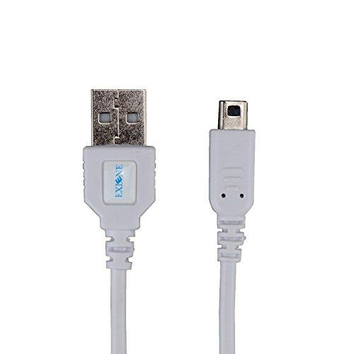 Exlene® Nintendo 3DS USB Power Ladekabel bei der Aufladung spielen für Nintendo 3DS, 3DS XL, 2DS, 2DS XL LL,DSi, DSi XL -4ft / 1.2m (Weiß)