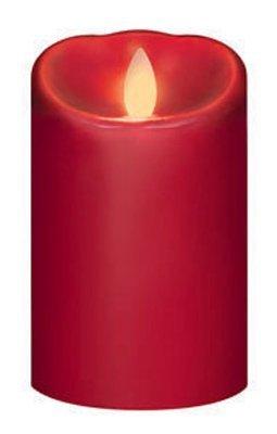 Northern International IGFT88205CB00 iFlicker 3x5 RED Candle - Quantity 1 by NORTHERN INTERNATIONAL INC (Northern International-kerze)