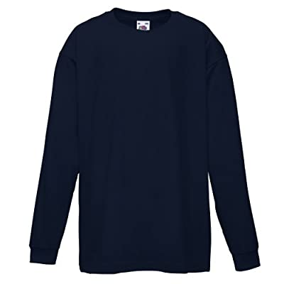Fruit of the Loom Childrens/Kids Long Sleeve T-Shirt : everything £5 (or less!)