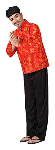 Imagen de atosa–4984–disfraz de chino–adulto–tamaño 2