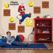 Preisvergleich Produktbild Party-Destination 159151 Super Mario Bros. Giant Wall Decals