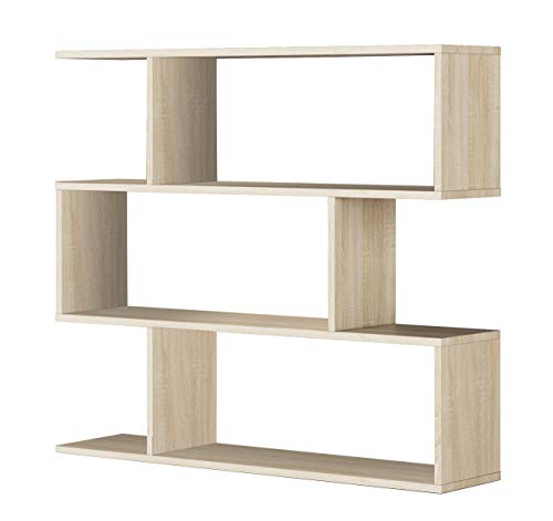 13Casa - Kafka B9 - Libreria. Dim: 110x25x97 h cm. Col: Rovere. Mat: Melamina.
