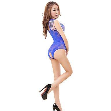 HJL Da donna Sensuale Indumenti da notte,Sottile Altro-Sexy Jacquard Da donna , purple , one-size blue