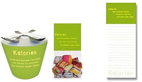 Kalorien sind die kleinen Tierchen, die nachts im Schrank die Kleier Enger nähen. Snack to go & Bonbons & Kühlschrankblöckchen -