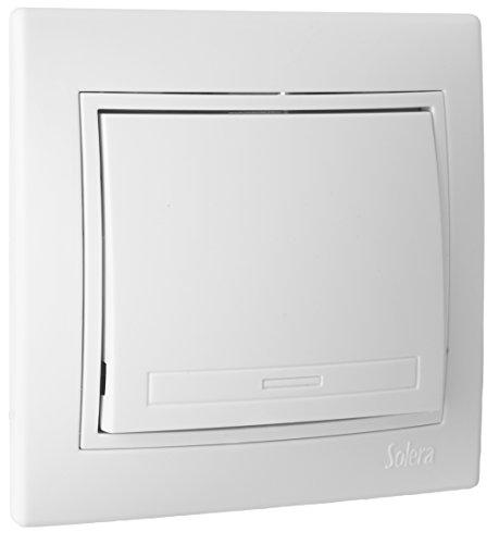 SOLERA ERP09U Conmutador de Cruce, 250 V, Blanco