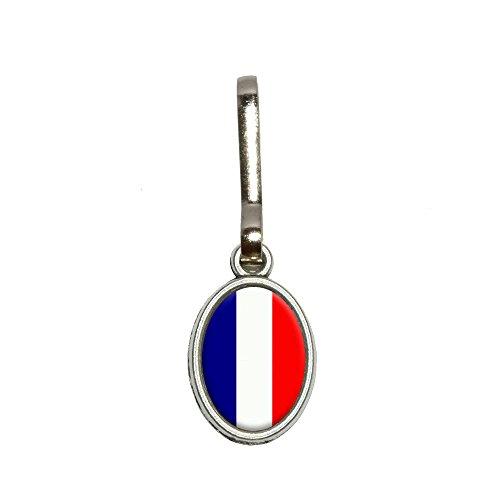 Niederlande Flagge Antik Oval Charm Kleidung Geldbörse Gepäck Rucksack Zipper Pull
