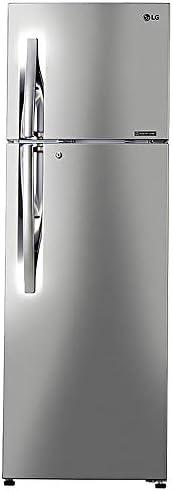 LG 308 L 2 Star Inverter Frost-Free Doube-Door Refrigerator (GL-T322RPZU, Shiny Steel)