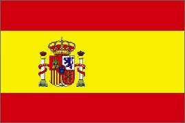 Bandera de España en Poliéster de 152.4 cm x 91.4 cm (5' x 3'). Oferta Especial