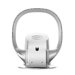 Carkiien Bladeless Desk Fan Oscillating Quiet Fan with Remote Wall Mount Fan for Home Air Circulation