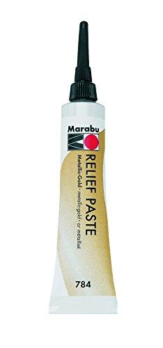 Marabu 78420ml Relief Paste Farbe, Gold -