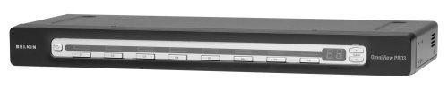 Belkin OmniView Pro3 8-Port KVM-Switch mit Bildschrimmenü