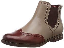 Tamaris Damen 1-1-25027-23 Chelsea Boots, Beige (Shell Comb 424), 40 EU