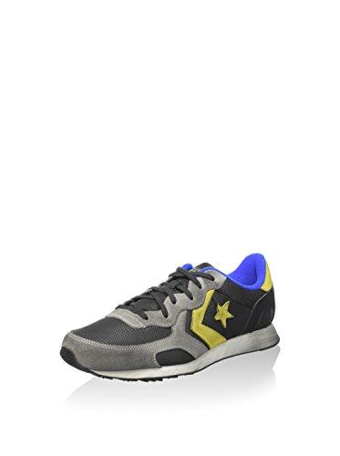 Converse  Auckland Racer Ox Txt/leather, Baskets pour homme Gris - Storm Wind Grey