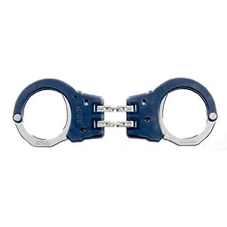 ASP blau Identifier Scharnier Handschellen (Stahl)