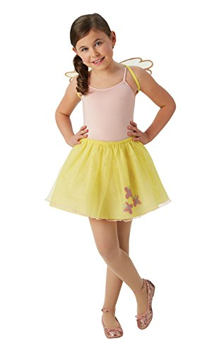 Rubie's Offizielle My Little Pony Kinder-Flutter Shy Tutu und Flügel Set (One Size, - Pony Play Kostüm