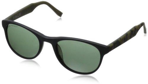 John Varvatos Herren Sonnenbrille, schwarz, V502
