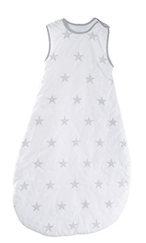 roba Schlafsack, 110cm, Kinderschlafsack ganzjahres/ganzjährig, aus atmungsaktiver Baumwolle, Kleinkindschlafsack unisex