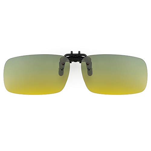 Cyxus polarized sonnenbrille [uv schutz] fahren/draussen brille,tag und nacht gebrauch Clip On Sonnenbrille