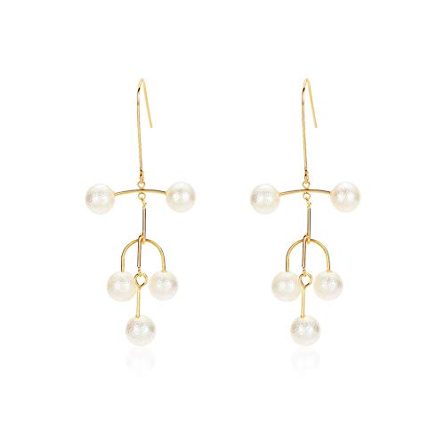 Anhänger Ohrringe Lange Kette Quaste Ohrringe Lange Kette Ohrringe Minimalistisch für Frauen, Jugendliche, Mädchen