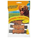 10 Raw Hide Twist Rolls/2 packs of 5 Smoky Flavour