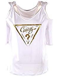 8dc8fdec0ebd Amazon.it  Guess - Maglie a manica lunga   T-shirt