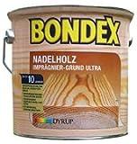 Bondex Imprägnierung Plus 2,5L Holzschutz Grundierung Holzgrundierung
