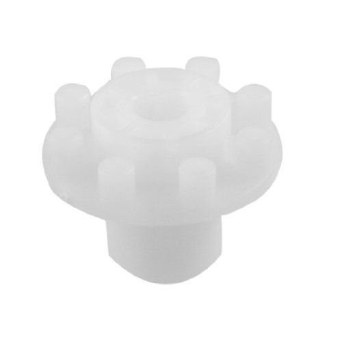 10 mm x 40 mm x 30 mm 8 Teeth PCB ProPen Polímero acoplamiento Gear Color Blanco