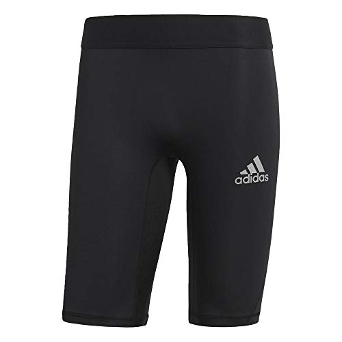 adidas Herren Alphaskin Sport Kurze Tight, Black, L (Running-adidas Shorts)