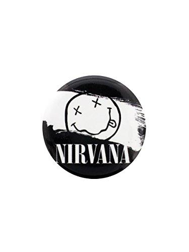 Preisvergleich Produktbild Nirvana Anstecker Smiley Paint 3.1 cm